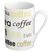 Tesco Tea and Coffee Set of 4 Mugs