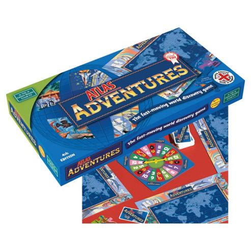 Atlas Adventures Board Game