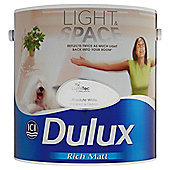 Dulux Light&Space Matt Absolute White 2.5l