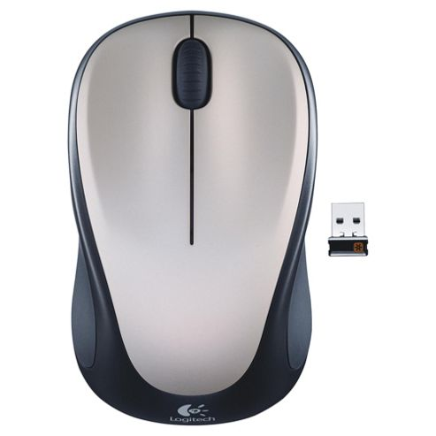 Logitech M235 Wireless Optical Mouse - Black