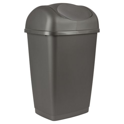 Tesco 50L Swing Bin Platinum