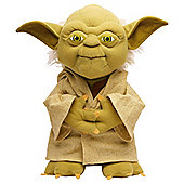 "Star Wars 9"" Yoda Talking Soft Toy"