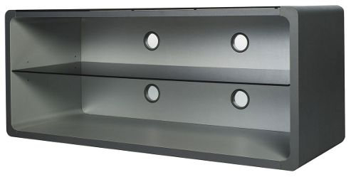 Optimum Silver/Grey Open TV Stand for up to 50 inch TVs