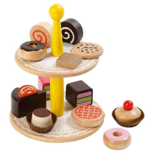 Pretend & Play Cake Tower Wooden Toy
