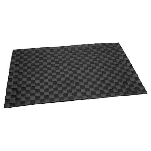 Tesco Woven Placemat, Black