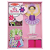 Melissa & Doug Nina Ballerina Magnet Dress-Up