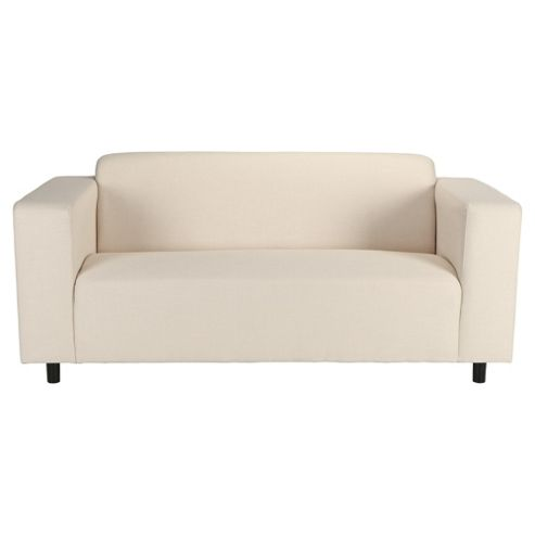 Stanza Fabric Medium Sofa Natural