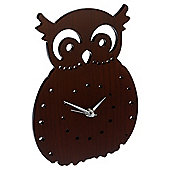 Tesco Clocks Owl Wall Clock