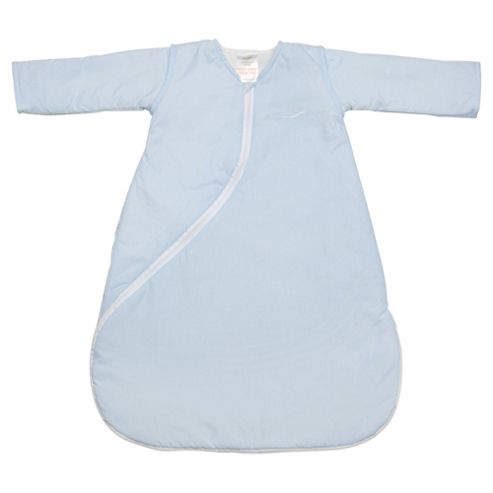 Purflo Baby 1 Tog Sleepsac, 18 Months+,  Light Blue