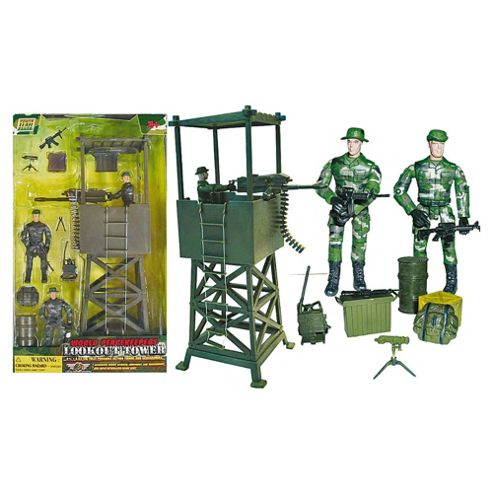World Peacekeeper's Lookout Tower- Assortment – Colours & Styles May Vary