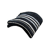 Catherine Lansfield Java Stripe Hand Towel - Black