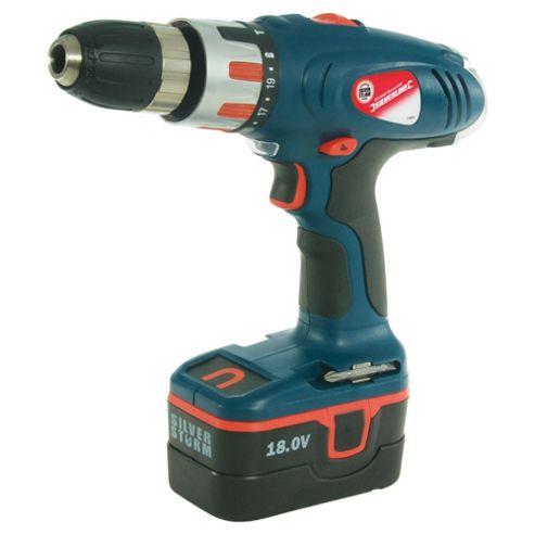Silverline Combi Hammer Drill 18v
