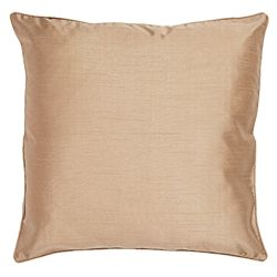 Tesco Faux Silk cushion, gold