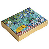 Gibsons Van Gogh Iris Playing Cards