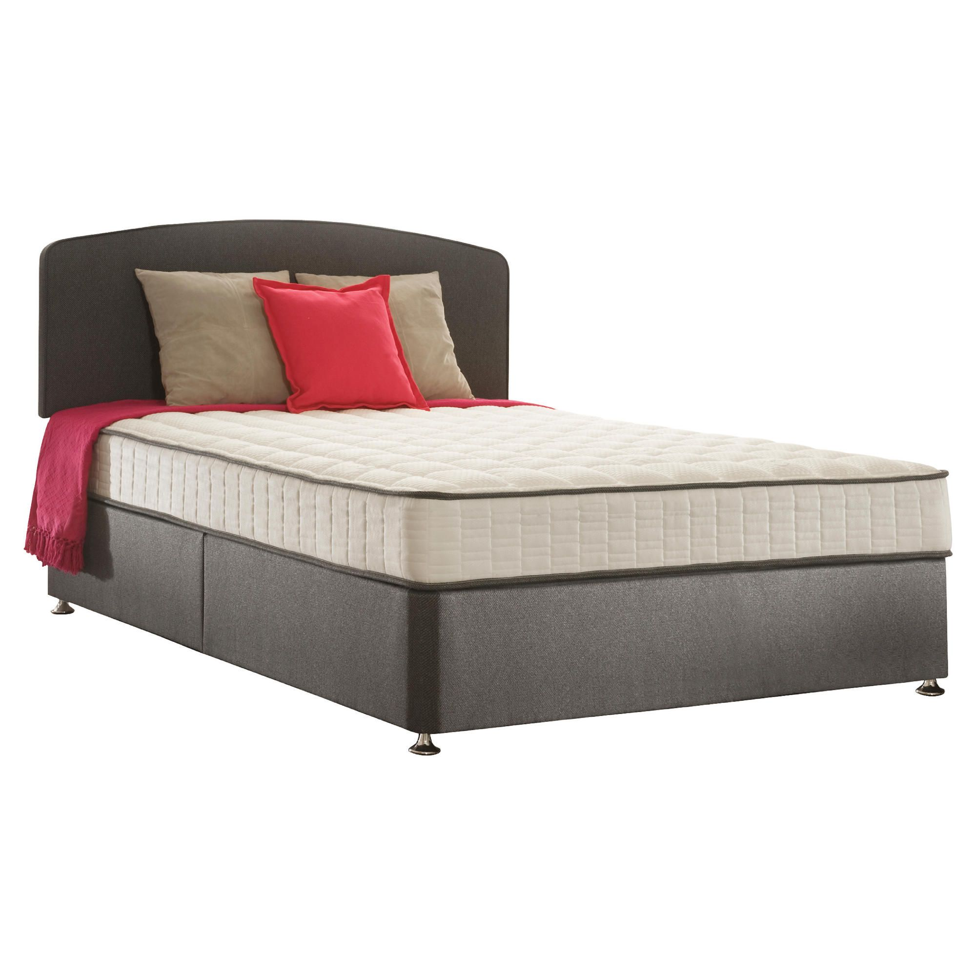 Sealy Pure Finesse King Non Storage Divan Bed at Tescos Direct