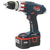 Silverline Combi Hammer Drill 24v