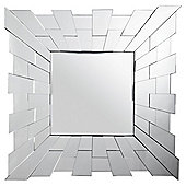 Square Starburst Mirror 80x80cm