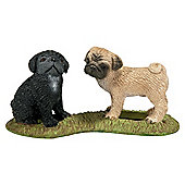Schleich Pug Puppies