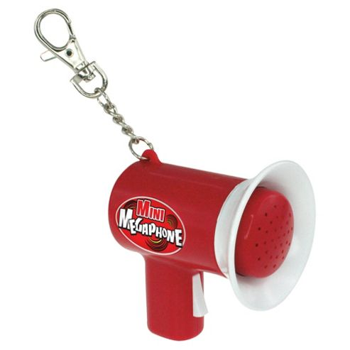 How Cool Is This? Mini Megaphone Keychain