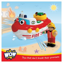 WOW Toys Fireboat Felix Bath Toy