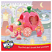 WOW Toys Pippas Princess Carriage- Assortment – Colours & Styles May Vary