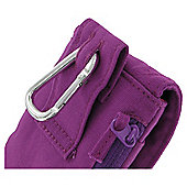 Trendz Fabric Pouch Quilted Universal Purple