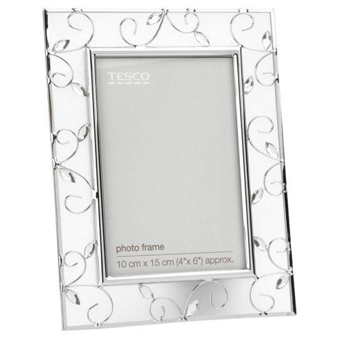Tesco Metal Jewel Frame 10x15cm / 4x6