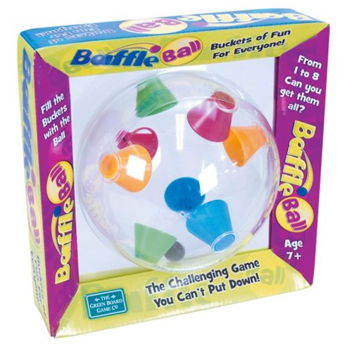 Green Baffle Ball Game