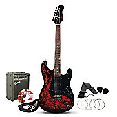 Rockburn Jaxcille Electric Guitar Demon