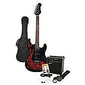 Rockburn Jaxcille Electric Guitar Demon