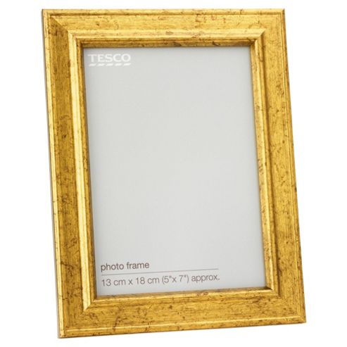 Tesco Antique Gold Look Frame 5x7