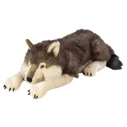 Wild Republic Jumbo Wolf Plush