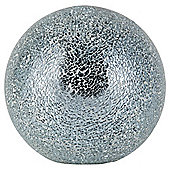 Tesco Lighting Crackle ball Table Lamp