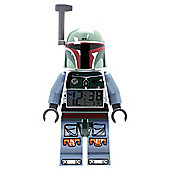 LEGO Star Wars Boba Fett Figure Clock