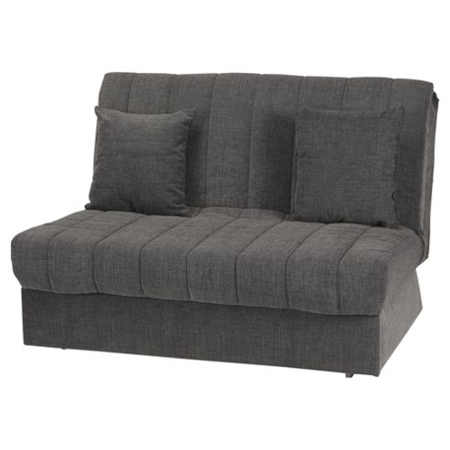 Morton Fabric Double Sofa Bed Charcoal