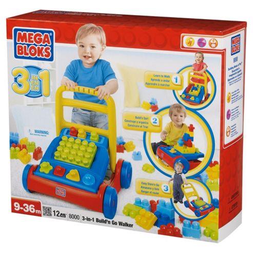 Mega Bloks First Builders Build 'n' Go 3 In 1 Walker