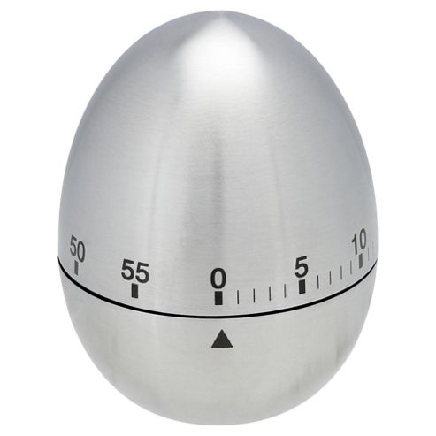 Tesco Stainless Steel Egg Timer