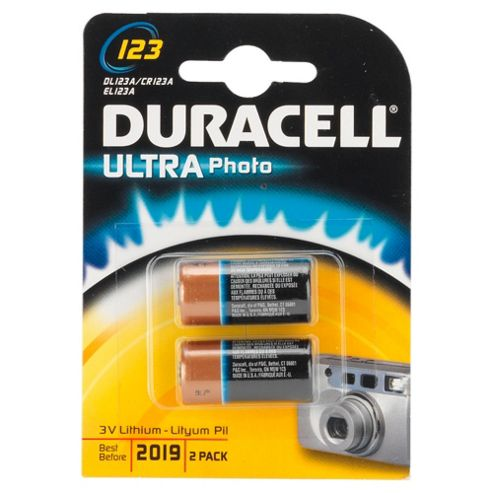 Duracell Ultra Photo 2 Pack 3V Batteries