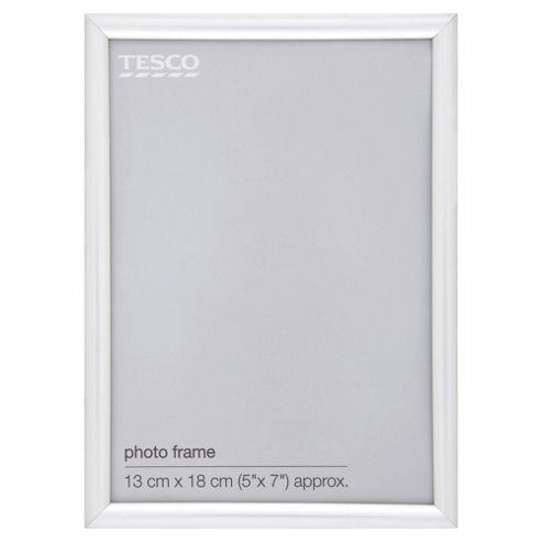 Basic Silver Photo Frame 5 x 7