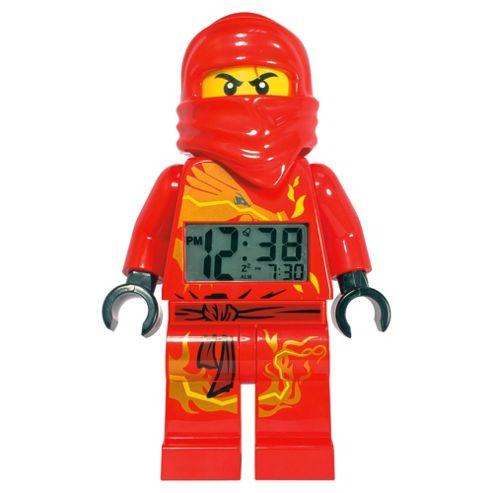 LEGO Ninjago Kai Minifigure Alarm Clock