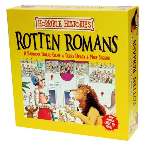 Green Board Game Co. Horrible Histories The Rotten Romans
