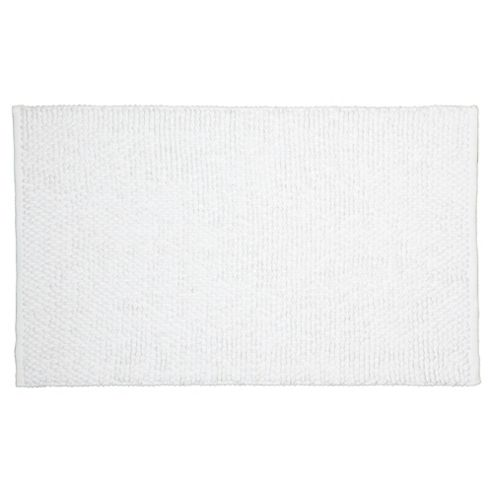 Tesco Chenille Loop Mat White