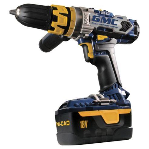 GMC 2G 18V Combi Hammer Drill Ni Cad