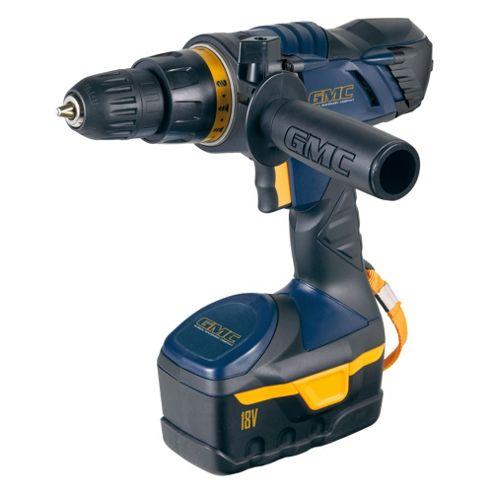 GMC Cordless Drill Driver 18v