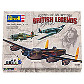Revell Gift Set RAF Classics British Legends 3-Pack 1:72 Scale Model Set