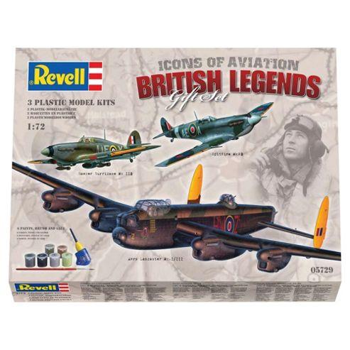 Revell Gift Set RAF Classics British Legends 3-Pack 1:72 Scale Model Set
