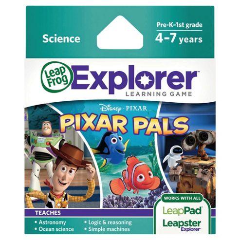 LeapFrog Leapster/LeapPad Explorer Pixar Pals Game