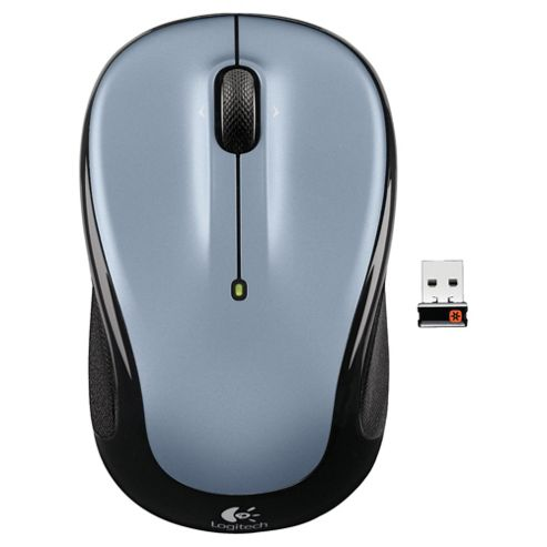 Logitech M325 24 GHz Wireless Mouse - Silver