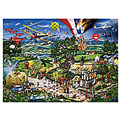 Games I Love The Country 1000 Pieces Jigsaw Puzzle
