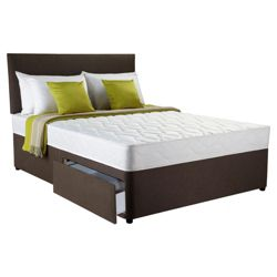 Silentnight Miracoil 3-Zone Ashford King 2 Drawer Divan Bed